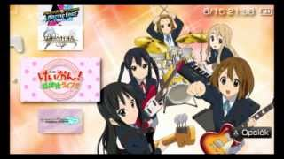 [PSP] K-ON! Houkago Live Gameplay
