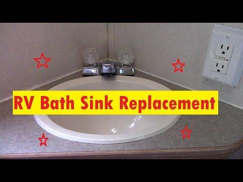 rv bathroom sink replacement