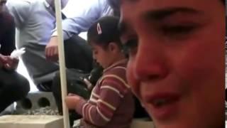 Слезы в глазах маленьких детей  Сирия online video cutter com 3