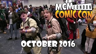 cosplay   mcm comic con october 2016