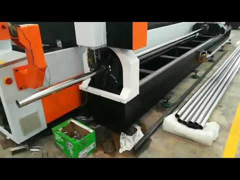 fiber laser cutting machine for metal plate and pipe in Malaysia
