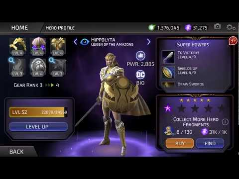 Dc Legends: Hippolyta Queen Of The Amazons Goes Legendary