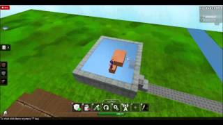 Roblox: Building Town (Part of it)