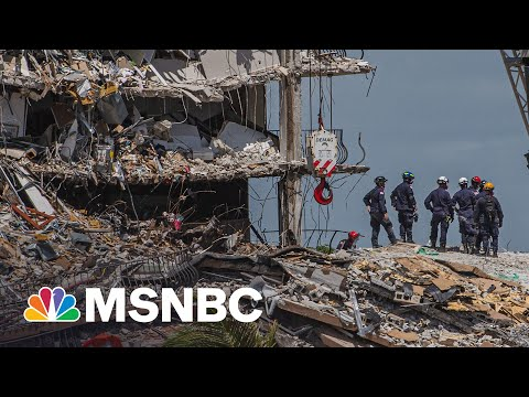 151 People Still Unaccounted For In Florida Building Collapse | MSNBC