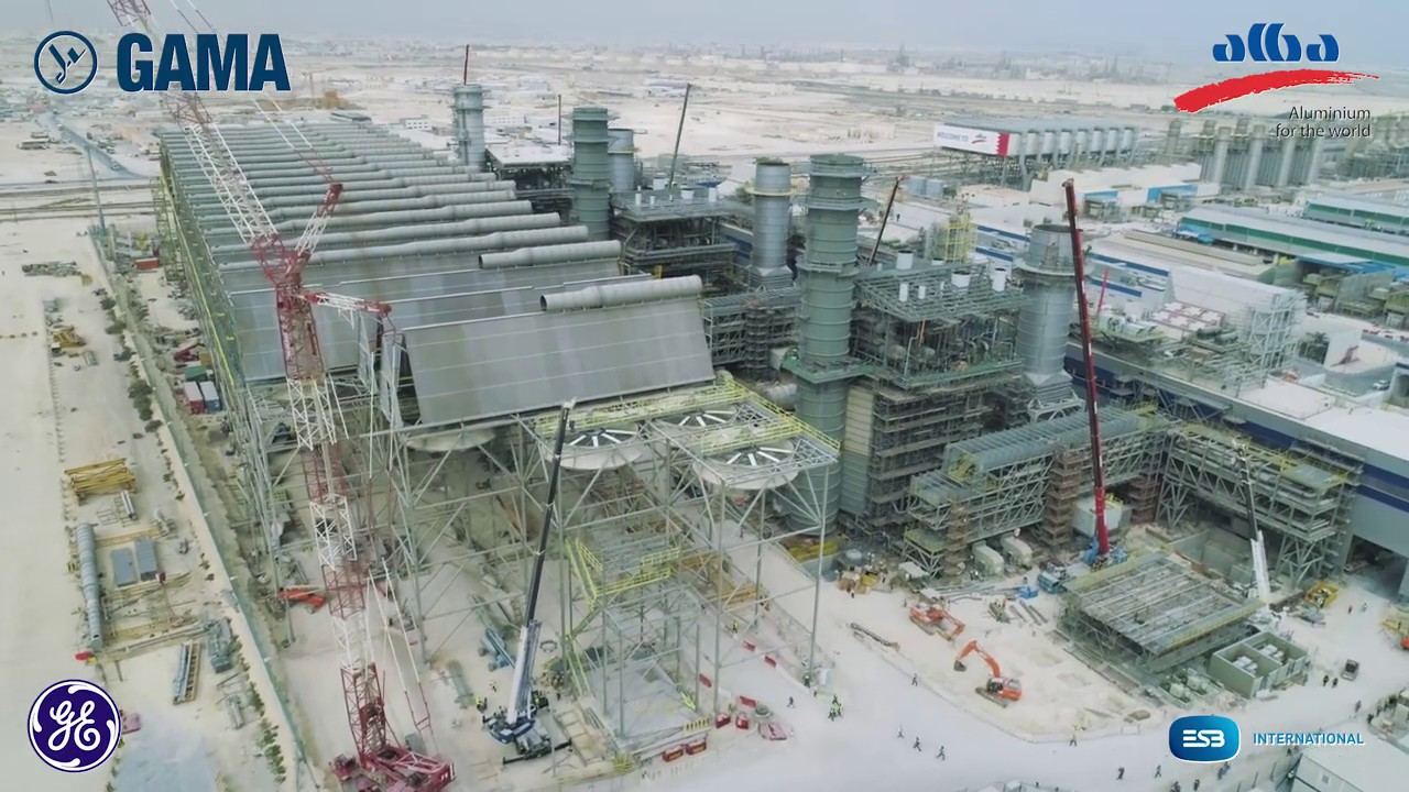 GAMA Power Systems - 1,800 MW ALBA PS5 Combined Cycle Natural Gas Power  Plant