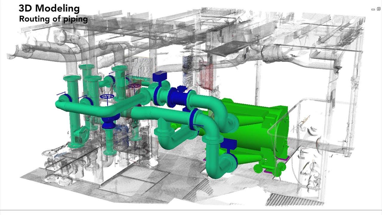 hight resolution of ballast water treatment retrofit solutions 3d scanning engineering