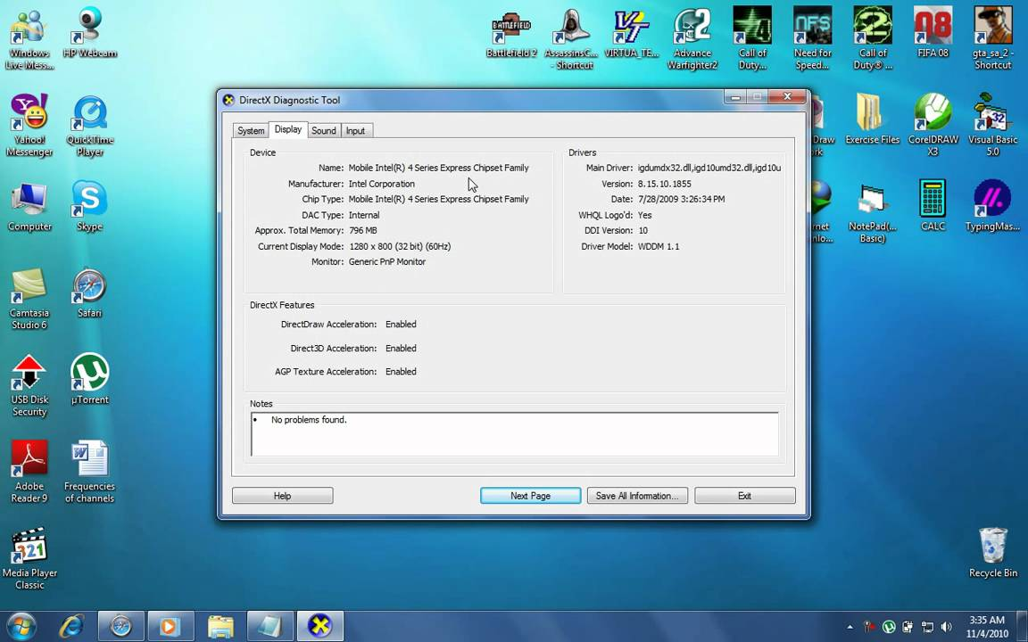 Hp 6530b Windows Rating On Windows 7 Youtube