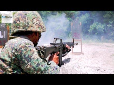 U.S. & Philippine Marines C-4 Explosive Demolition and Squad Attacks Range