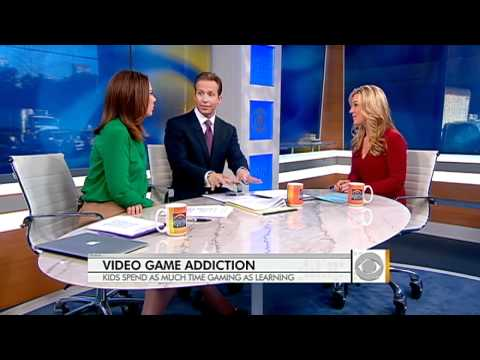 The Early Show - Video game addiction and kids
