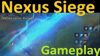 Nexus Siege Gameplay - Trundle Smashes Puny Ballista With Club