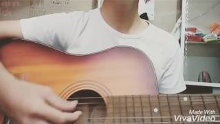 I love you (em yêu anh)  - Miu Lê guitar cover by NL :v