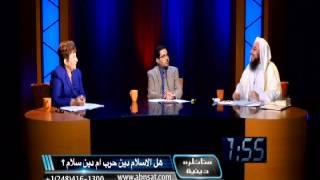 المناظرة بين الدكتورة وفاء سلطان و الشيخ طارق يوسف