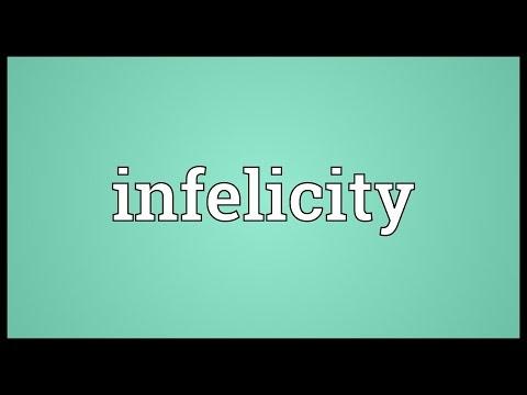 Header of infelicity