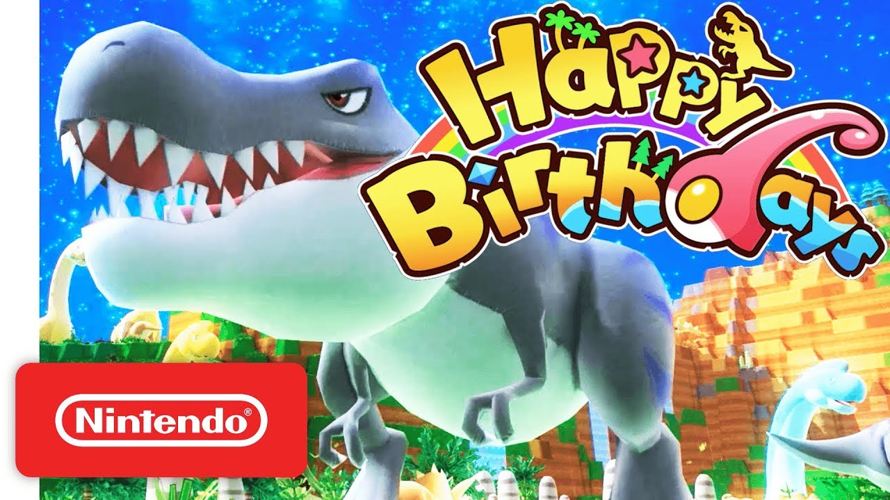 happy birthdays the world is in your hands nintendo switch