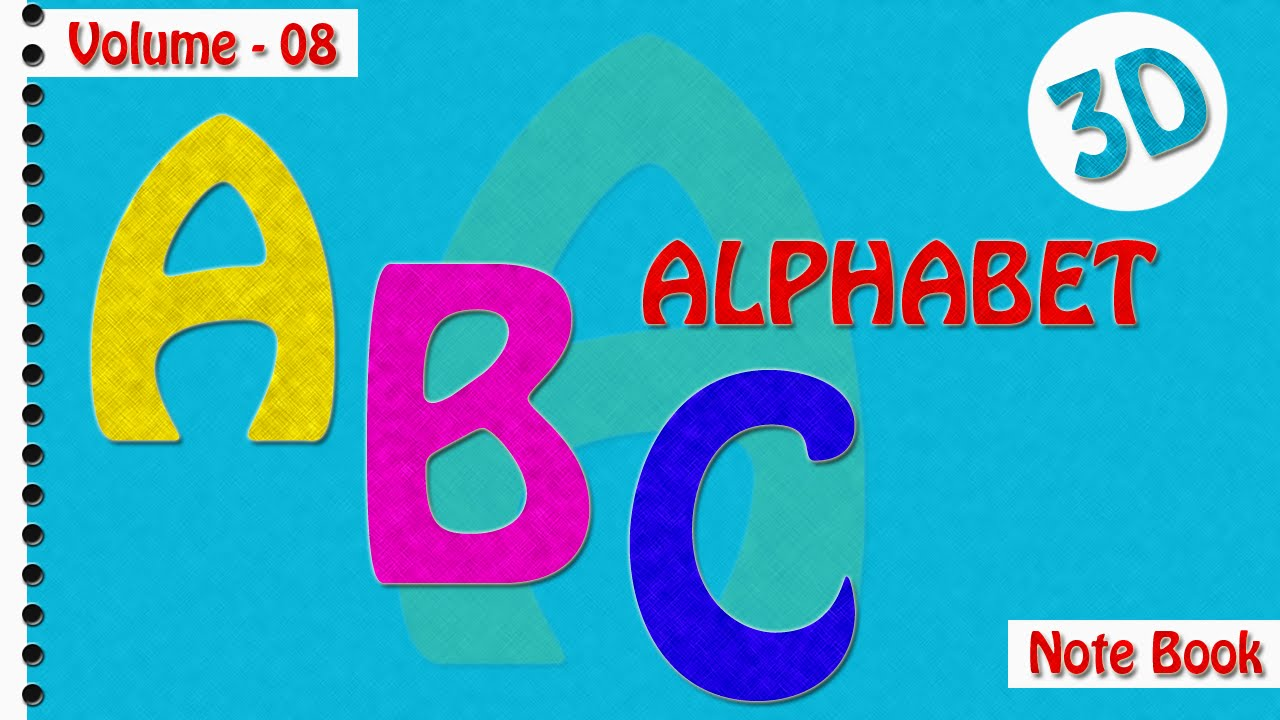 abcd for kids abc alphabet book for children nursery rhymes for children - Kids Book Pictures