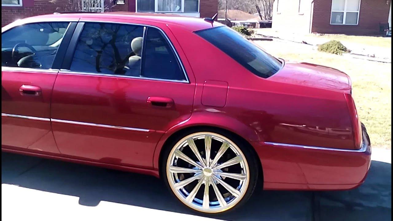 Cadillac Cts Rims >> 2006 Dts on 22's - YouTube
