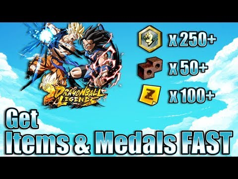 How To Get Items & Medals FAST In Dragon Ball Legends