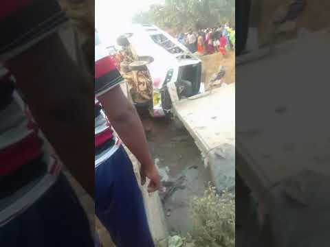 Jalda C Block Me Ek Bus Accident Hua Hai Parbati Bus