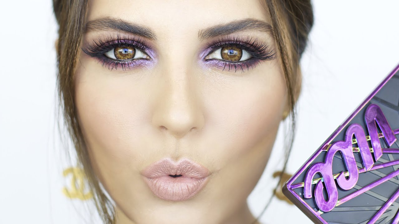 Fall Makeup Tutorial | VICE 4 Palette! - YouTube