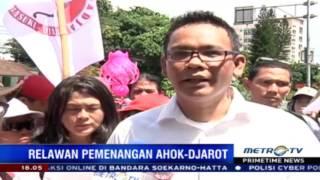 Primetime News: Relawan Pemenangan Ahok-Djarot