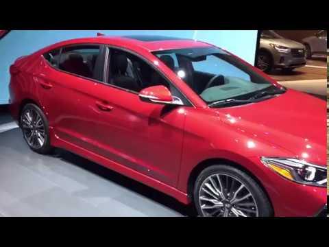 2017 Hyundai Elantra Sport - LA Auto Show