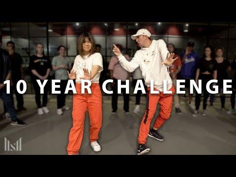 """""""GET UR FREAK ON"""" 10 Year Dance Challenge Class  Matt Steffanina ft Bailey Sok"""