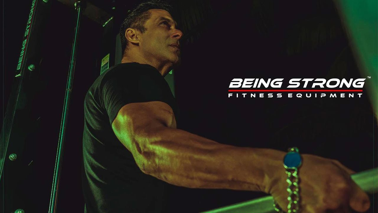 Be fit, Be Strong with Being Strong | Salman Khan