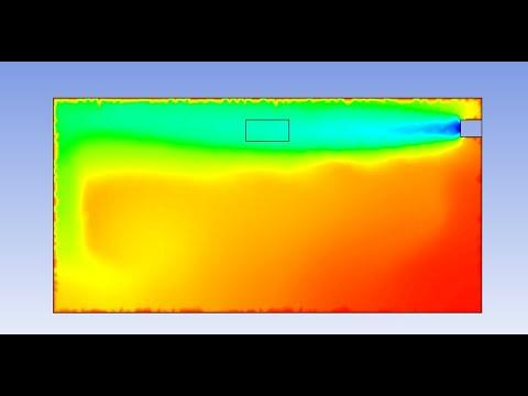 (Air Condition Simulation Using Fluent )مُحاكاة عمل تكييف باستخدام برنامج ال Fluent