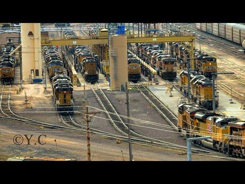 Railfanning UP's Bailey Yard in North Platte, Nebraska