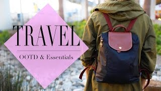 What's In my Travel Backpack | OOTD & Essentials | ANNEORSHINE