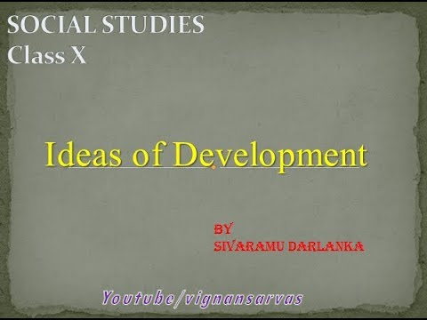 10th class Ideas of Development/ EM/vignansarvas