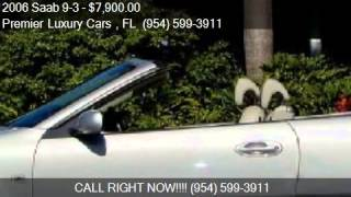 2006 Saab 9-3 2.0T 2dr Convertible for sale in Fort Lauderda