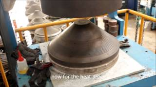 Shok Distribution! How Speaker cones are made!  (for mobile users)n
