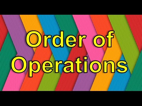 The Order of Operations Song (PEMDAS) | Silly School Songs