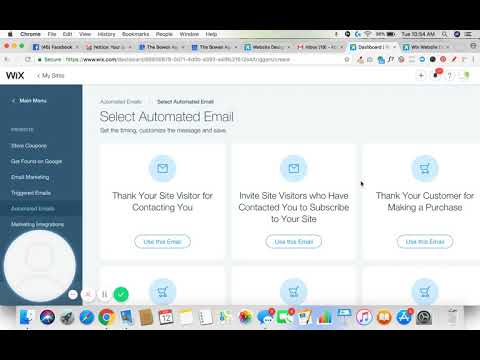 How To Set Up Automated Email Responses in Wix