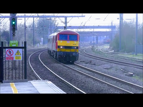 Fast Trains at Biggleswade, ECML | 02/02/19