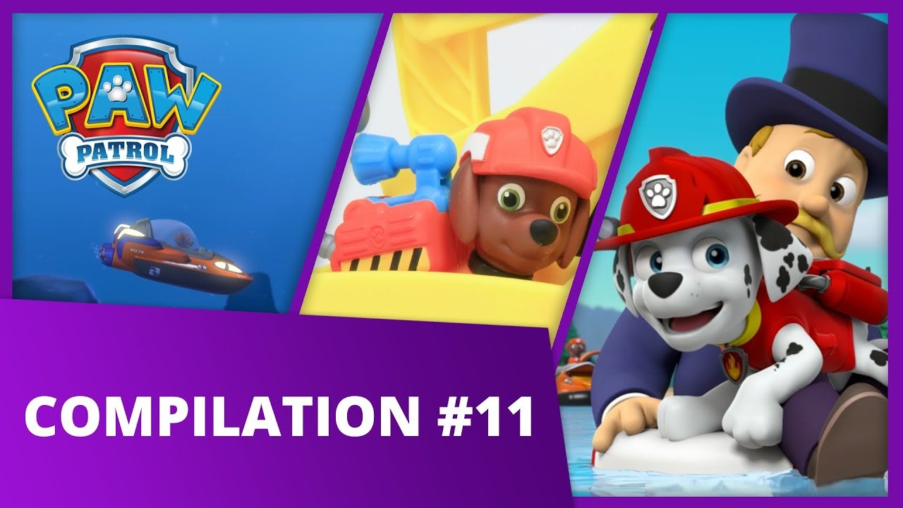 PAW Patrol | Pup Tales, Toy Episodes, and More! | Compilation #11 | PAW Patrol Official & Friend