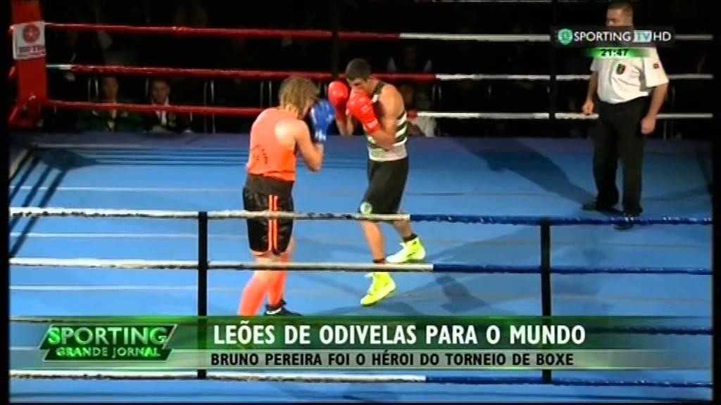 Boxe :: Bruno Pereira (Sporting) venceu a II Odivelas Boxe Cup na categoria de -75kg em 07/12/2014