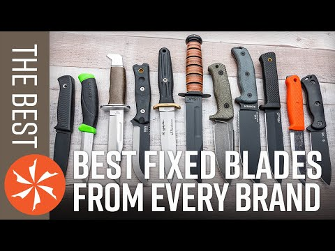 The Best Fixed Blade Knives from Every Brand in 2021