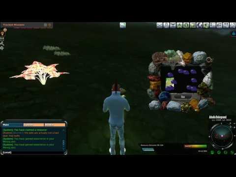 Entropia Universe: 100 PED Arkadia Underground Mining Run