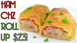 Ham & Cheese Roll Up $2.31- Rich Bitch Cooking