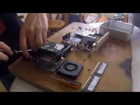 how to replace hard drive in mac mini