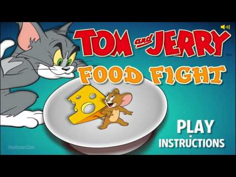 Tom And Jerry ► Food Fight - Movie GamePlay HD