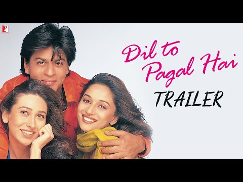 Download Dil To Pagal Hai | Official Trailer | Shah Rukh Khan | Madhuri Dixit | Karisma Kapoor | Akshay Kumar