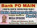 Data Interpretation: Part-I Bank PO Main (IBPS/SBI/RBI/RRB) MEGA EPISODE