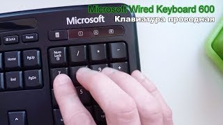 Клавиатура MicrosoftWired Keyboard 600