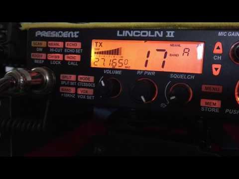president lincoln ii, president lincoln ii radio, Jason 4300-100 audio test