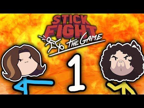 Stick Fight: Cartoon Violence! - PART 1 - Game Grumps VS