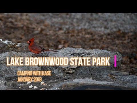 Lake Brownwood State Park - Camping