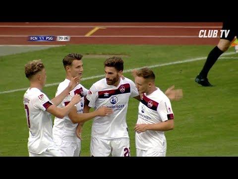 1:1 im Härtetest gegen PSG | Saisoneröffnung | 1. FC Nürnberg - Paris Saint-Germain